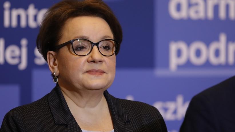 Nowy sondaż dla SE. Anna Zalewska powinna startować w eurowyborach?