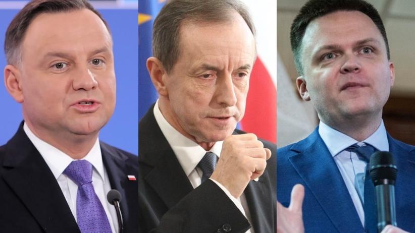 Andrzej Duda, Tomasz Grodzki, Szymon Hołownia