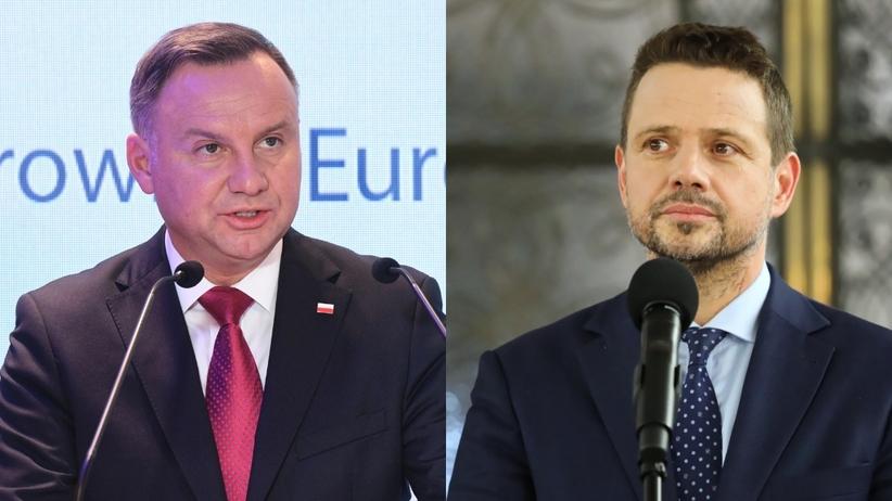 Andrzej Duda Rafał Trzaskowski