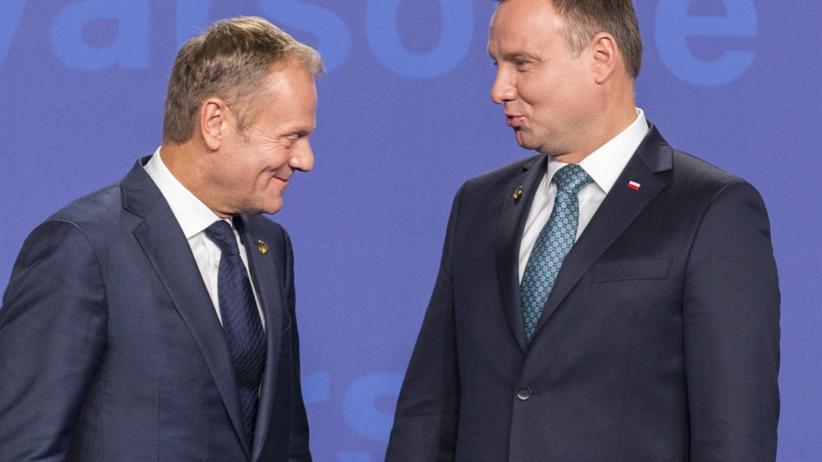 Nowy sondaż: Duda lepszy od Tuska. Wygrywa w obu turach