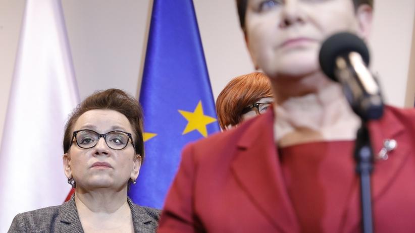 Anna Zalewska wyszła z cienia. Gdzie była w pierwszym dniu strajku?
