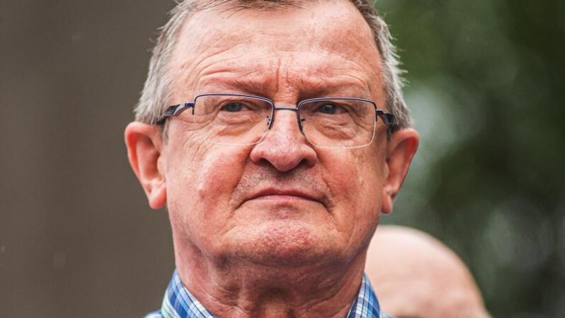 Tadeusz Cymański walczy z rakiem - mięśniakiem