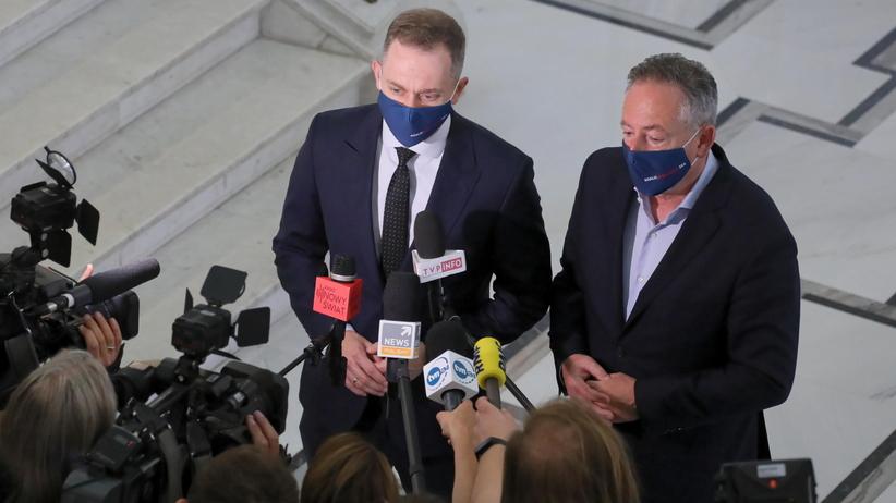 Cezary Tomczyk i Bartłomiej Sienkiewicz
