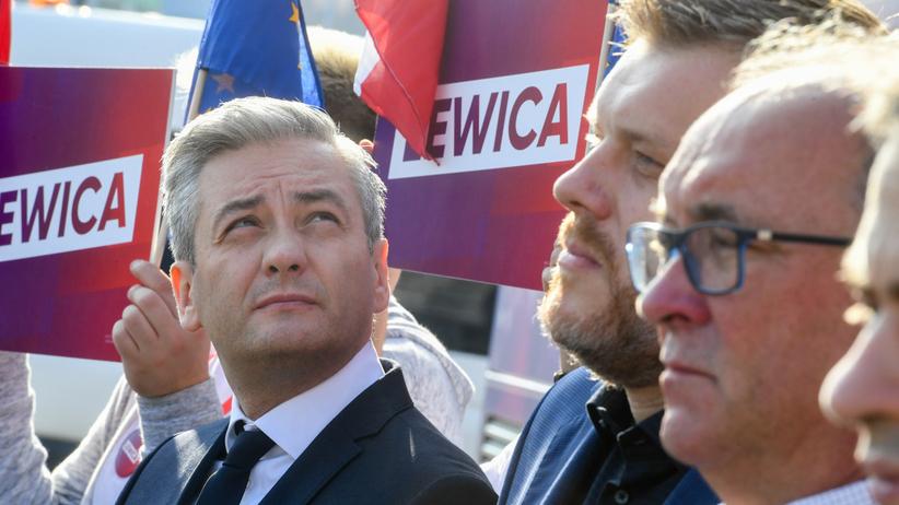 Robert Biedroń Włodzimierz Czarzasty