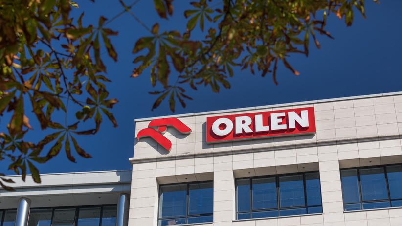 Logo grupy Orlen