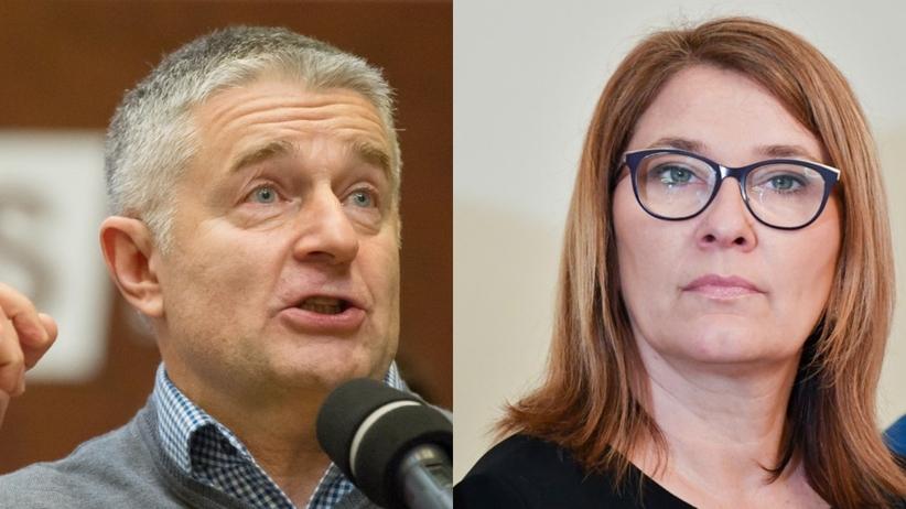 Frasyniuk nawołuje do walki z reformą PiS. Mazurek: Kretyn, barbarzyńca