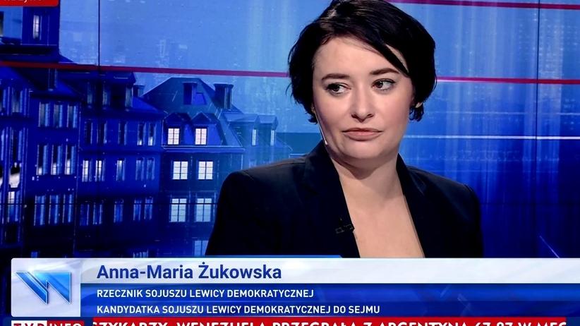 Anna-Maria Żukowska o Trybunale Stanu dla Tuska