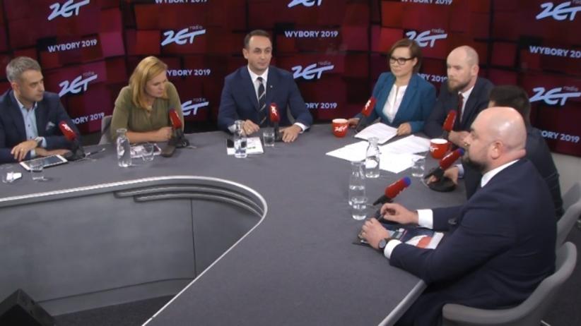 Debata przed wyborami parlamentarnymi w Radiu ZET