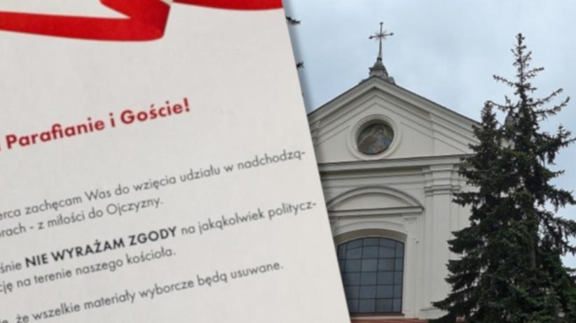Ks. Dorobczyński z Warszawy nie chce agitacji politycznej w kościele. Inny ksiądz go wyśmiał