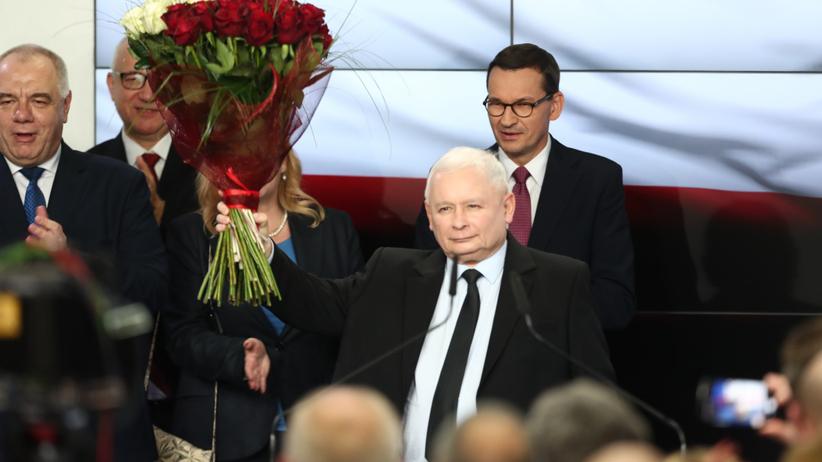 PiS wygrało wybory 2019. Kaczyński:wygraliśmy pomimo frontu przeciwko nam