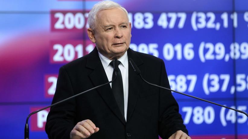 Wyniki wyborów 2019. Kaczyński chwali PiS: dzięki nam polityka weszła na nowy poziom