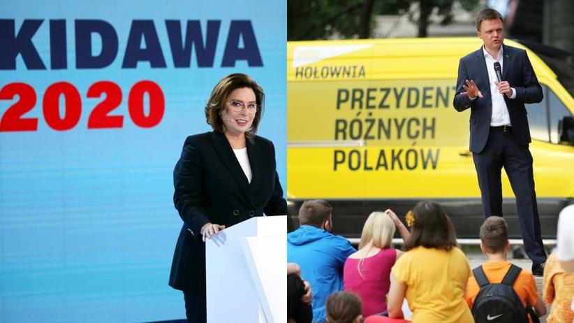 MAłgorzata Kidawa-Błońska, Szymon Hołownia