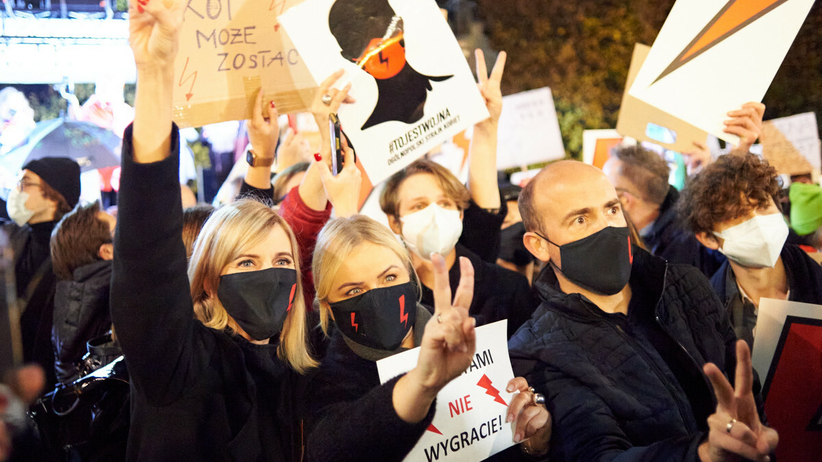 Borys Budka, wyrok TK, Strajk Kobiet
