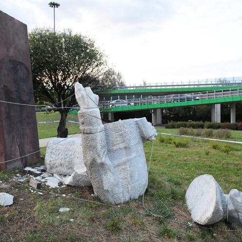 Pomnik gen. Berlinga w Warszawie