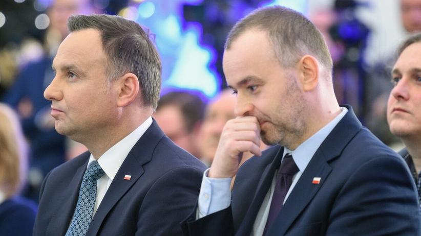 Paweł Mucha i Andrzej Duda