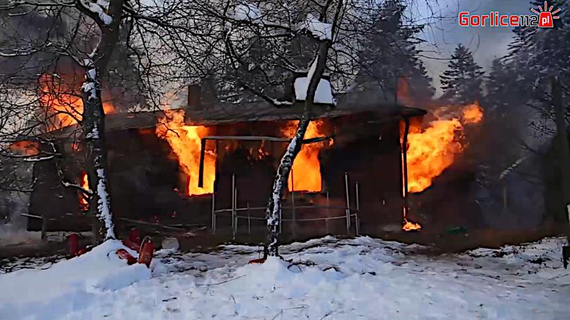 pożar w Szymbarku