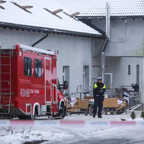 Pożar w Chojnicach