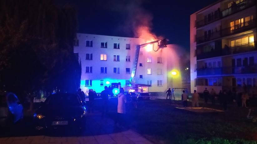 Pożar w Augustowie