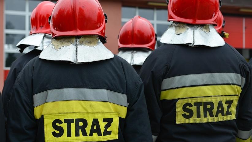 Pożar w Azotach