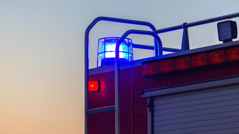 Pożar biurowca w Białymstoku. Ewakuowano kilkaset osób