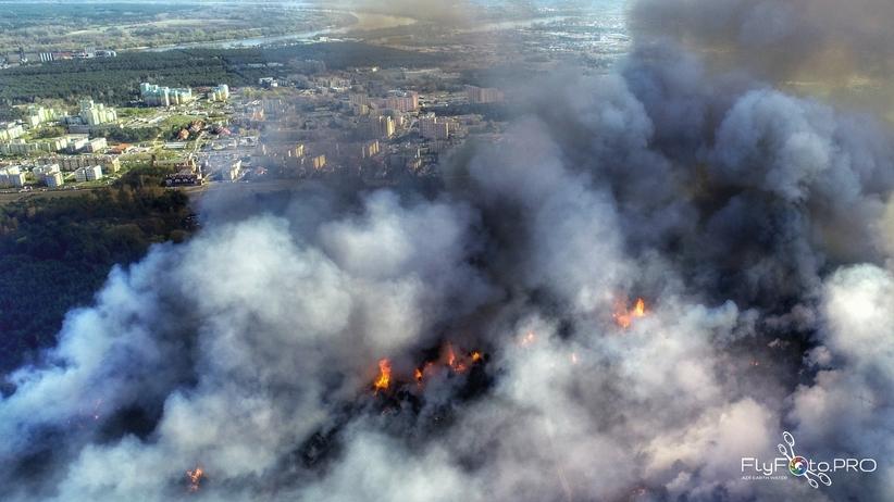 Pożar w Fordonie