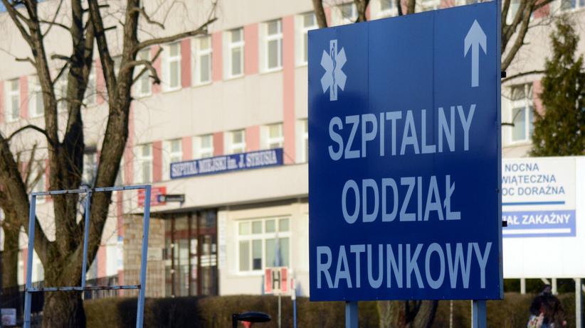 Pacjent z Covidp19 wyskoczył ze szpitala. Zginął