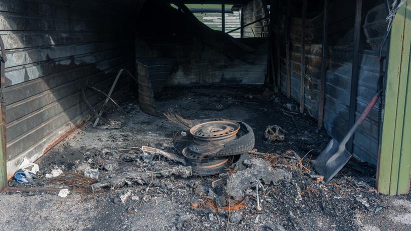 Tragedia w Wielkopolsce. W garażu znaleziono spalone zwłoki