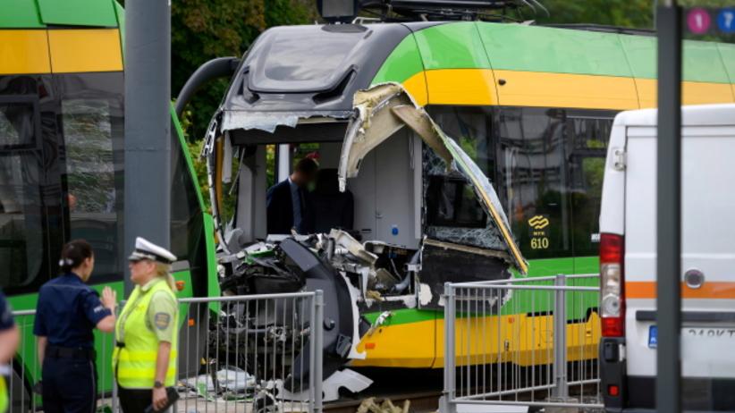 Wypadek tramwajowy w Poznaniu