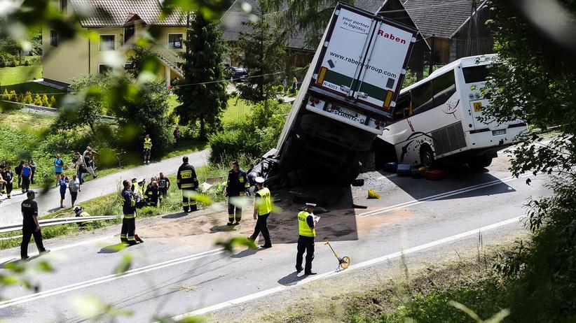 Wypadek na Zakopiance