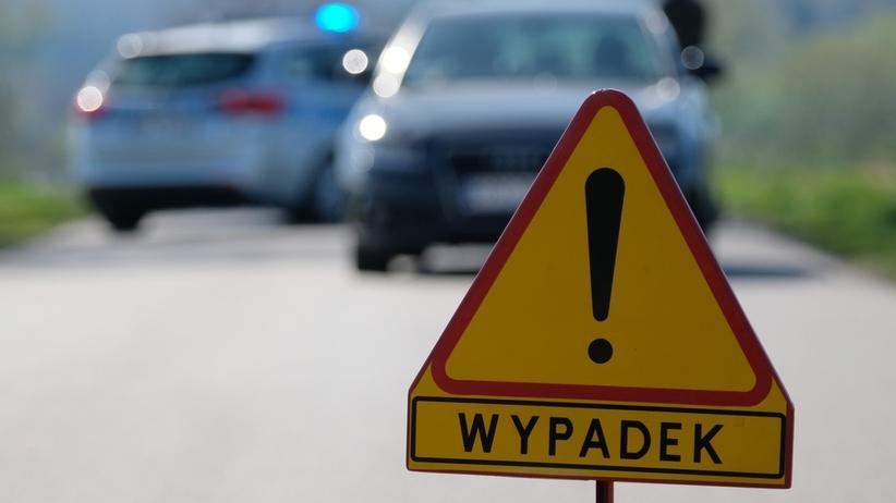 Tragiczny wypadek na drodze krajowej. Nie żyje kobieta