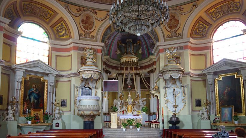 Kradzieże w kościele w Skierniewicach