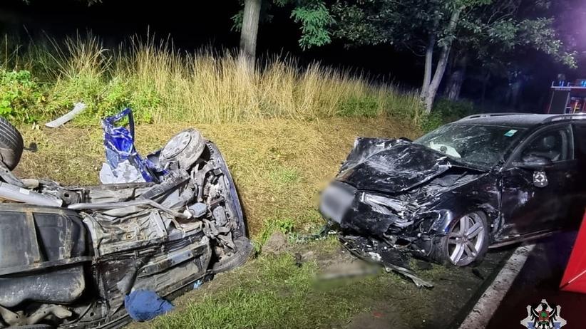 wypadek w Głuszycy