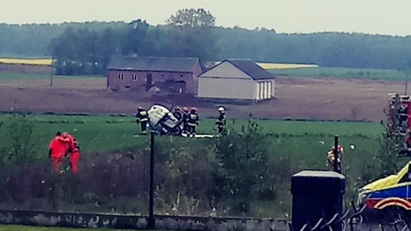 Katastrofa lotnicza w Sokołowie Podlaskim. Rozbił się śmigłowiec