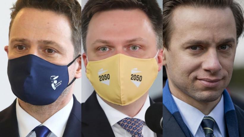 sondaz kto liderem opozycji w Polsce