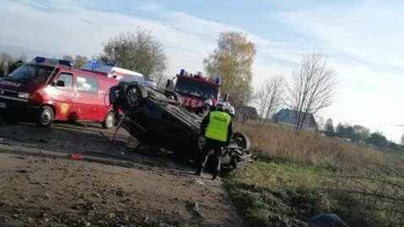 Wypadek w Starej Kiszewie