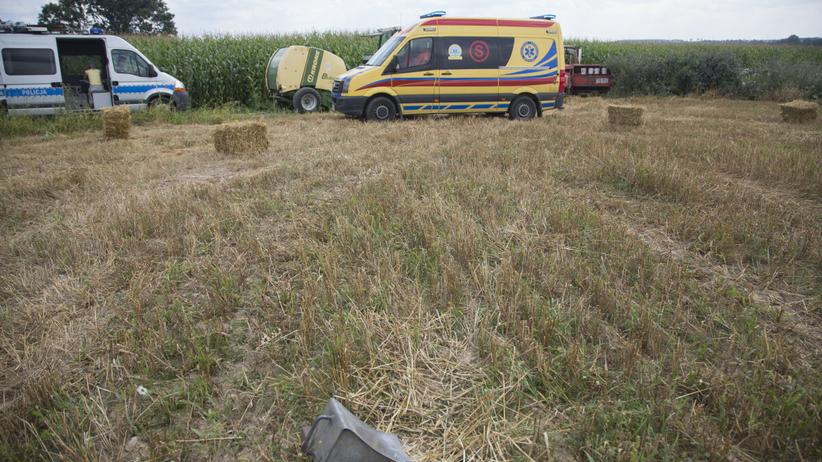 Śmiertelny wypadek podczas prac polowych