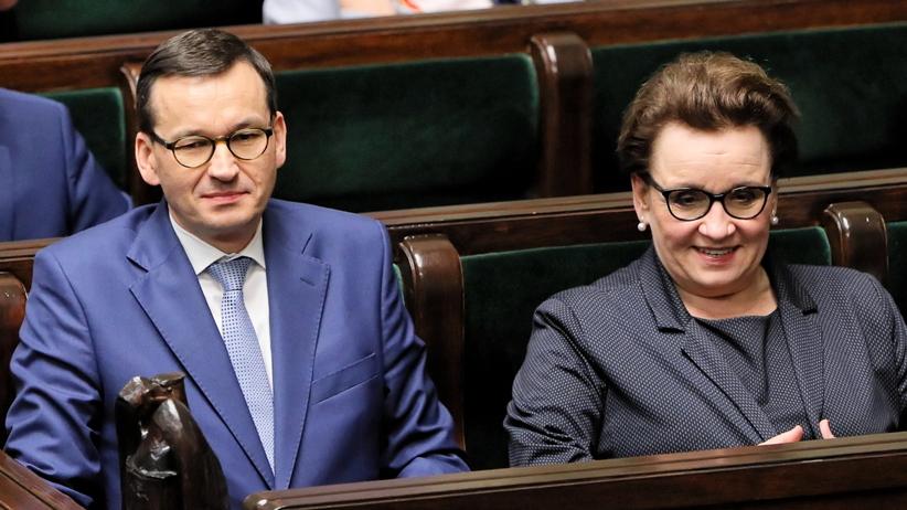 Strajk nauczycieli 2019. Minister edukacji Anna Zalewska zachowała stanowisko