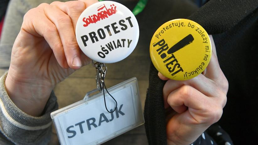Strajk nauczycieli. Krakowska RIO: nie mogą otrzymać wynagrodzenia