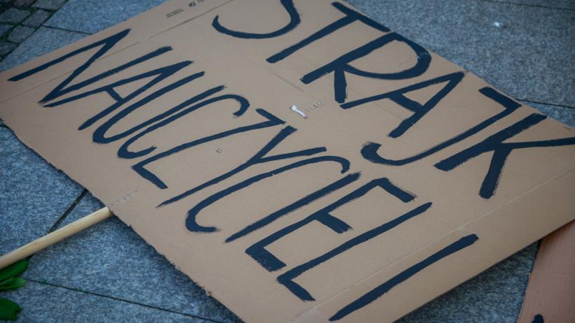 Strajk nauczycieli