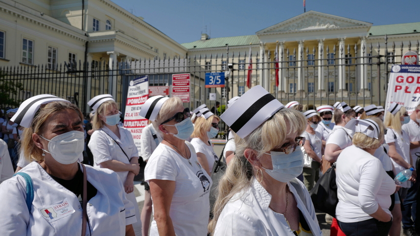 Strajk pielęgniarek i położnych