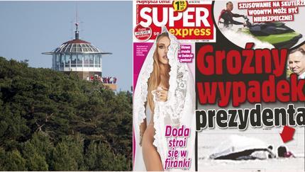 Groźny wypadek Andrzeja Dudy na wakacjach. Na pomoc ruszył SOP