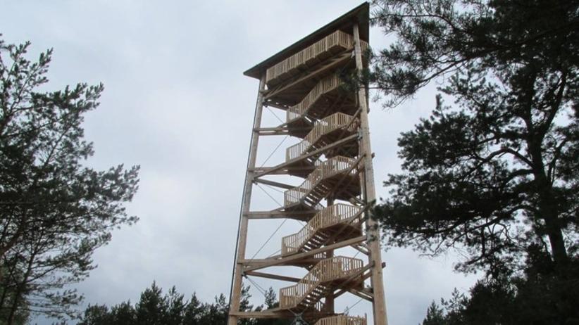 Wieża widokowa w Świętnie koło Wolsztyna
