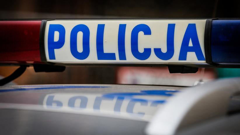 Policja wypadek