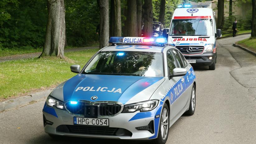 Policja, ambulans