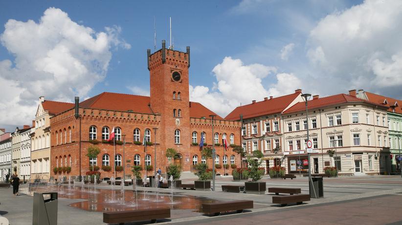 Szczecinek - Plac Wolności