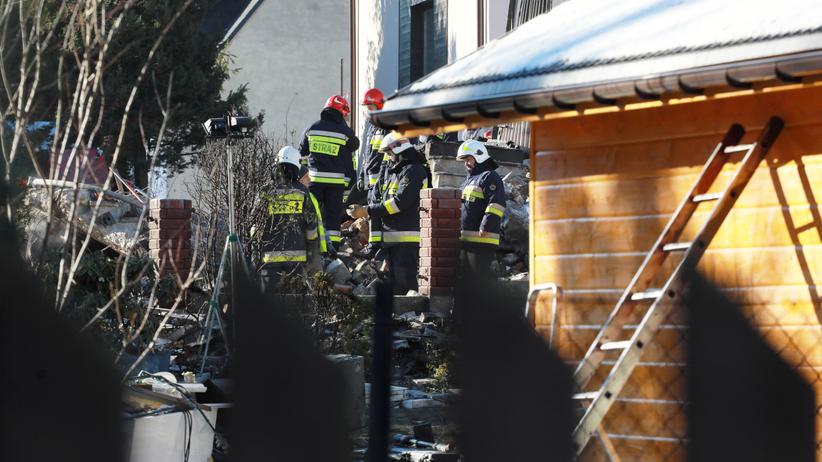 Tragiczny wybuch w domu rodzinnym w Szczyrku. Kilka osób zatrzymanych