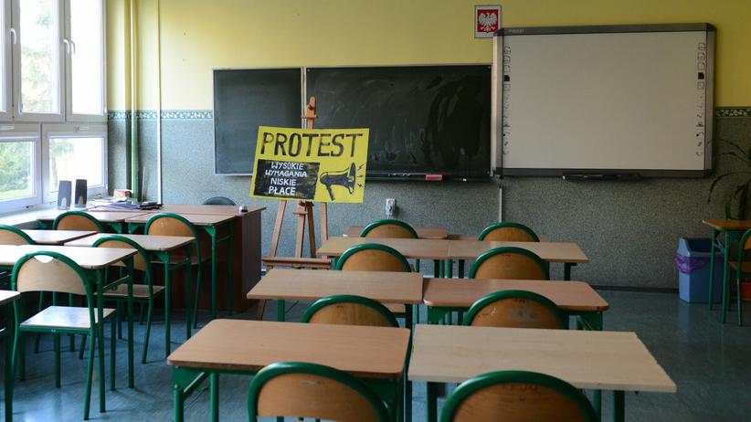 protest w szkole