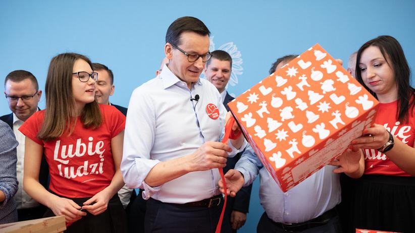 Szlachetna Paczka 2019. Mateusz Morawiecki przygotował prezenty dla rodziny z Warszawy