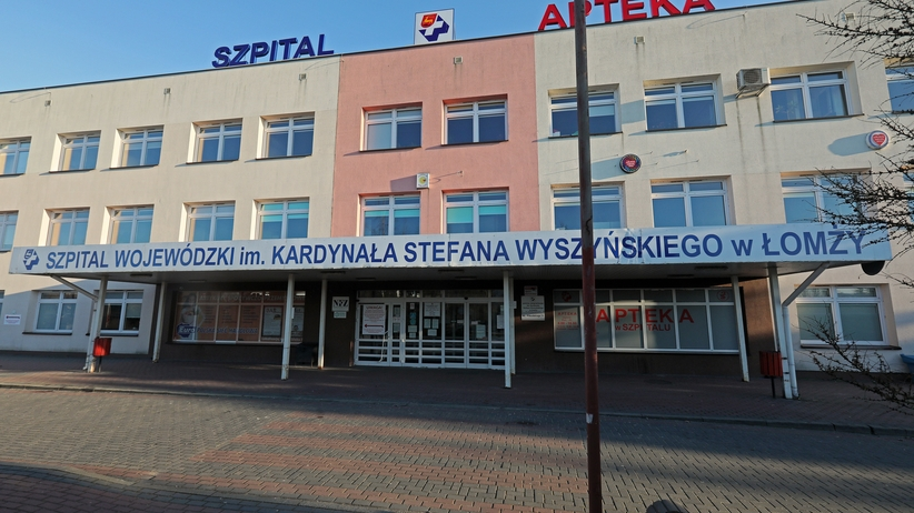 Szpital w Łomży