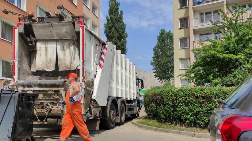 Śmieciarka - zdjęcie ilustracyjne